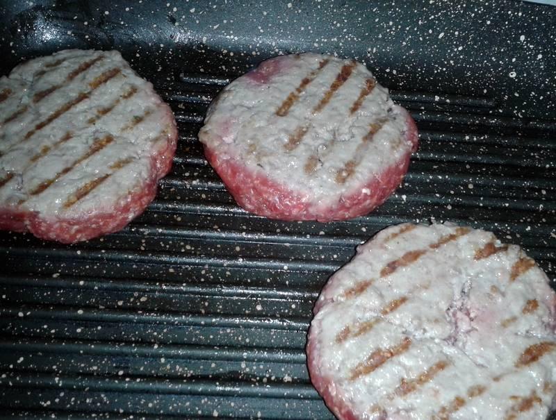 hamburger cottura