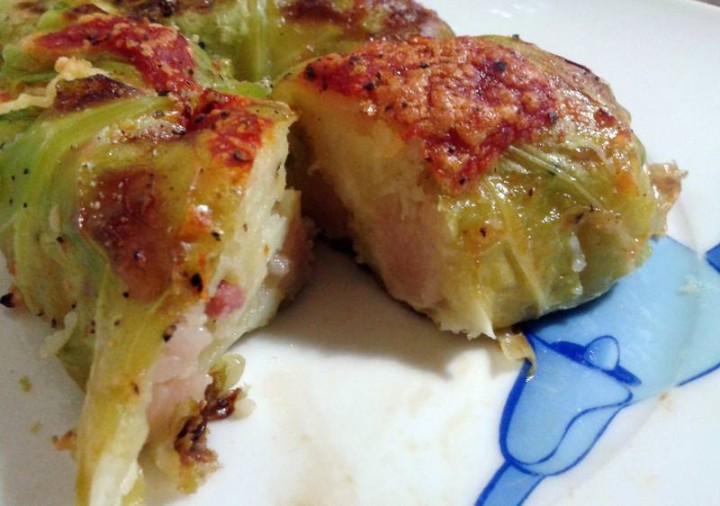 involtini verza e patate - piatto5